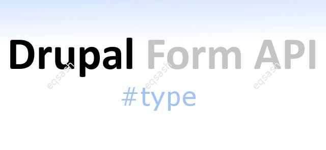drupal-form-api-types