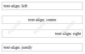 css-text-align-values